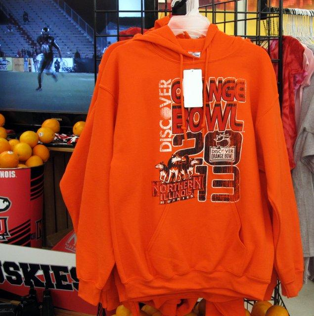 Orange Bowl Mania at the grocery store