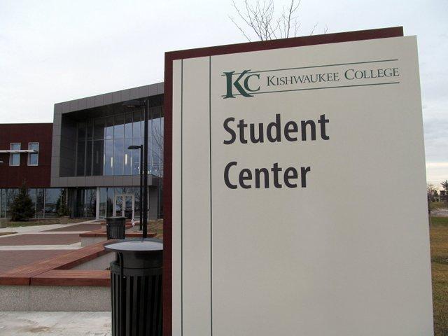 """The new """"front door"""" of Kishwaukee College"""