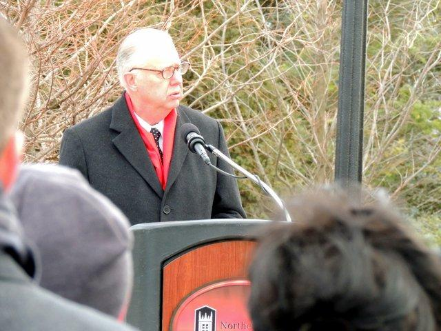 NIU President John Peters