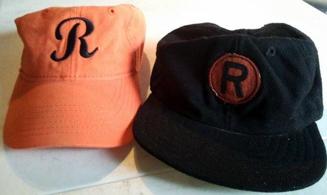 Rockford Starfire's new hat, Rockford Peaches vintage cap