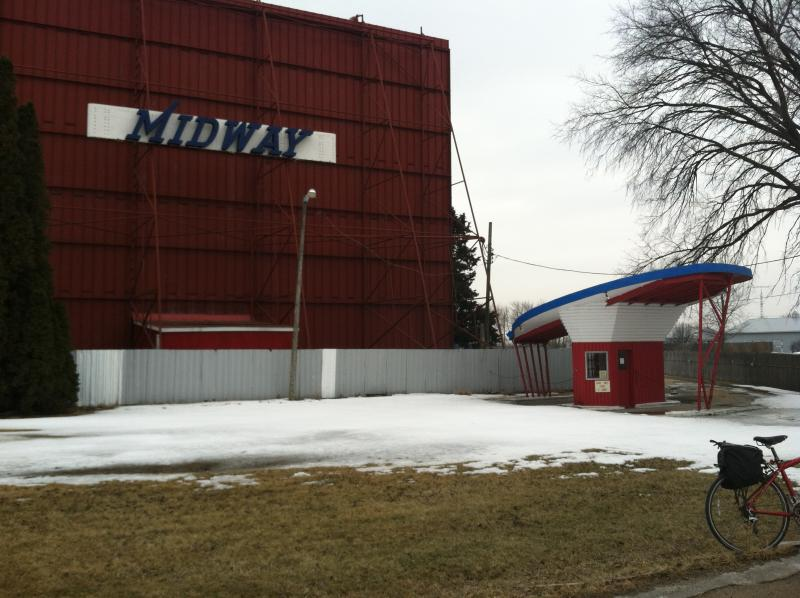 The Midway drive-in theater on Palmyra Road on the original Lincoln Highway route.