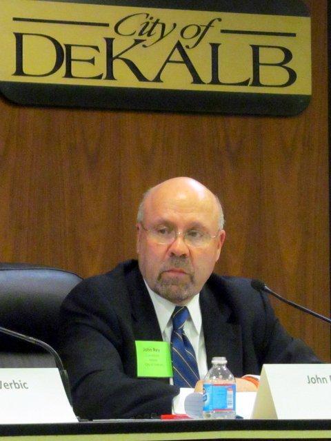 DeKalb Mayor-elect John Rey