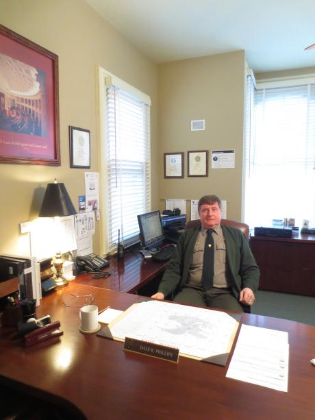 Dale Phillips, superintendent of Lincoln Home