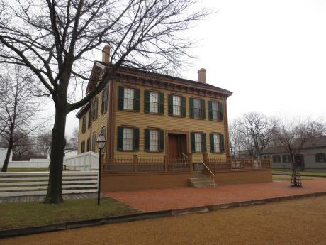 Lincoln Home in Springfield, IL