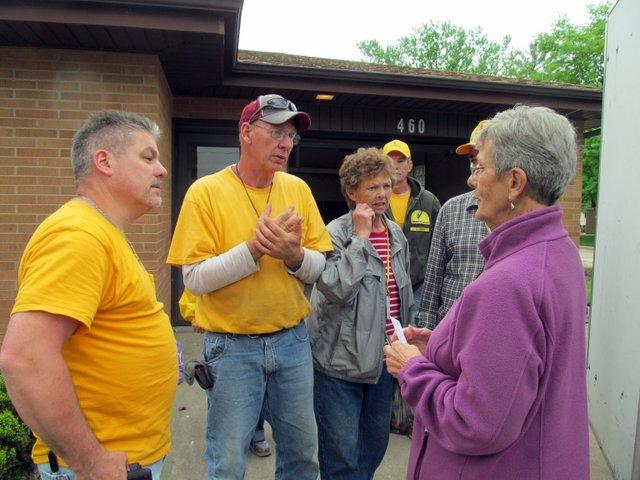 Southern Baptist volunteers from across the region have given a lot of time and labor to flood victims in Marseilles
