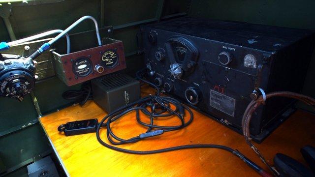 Radio operations, B-17