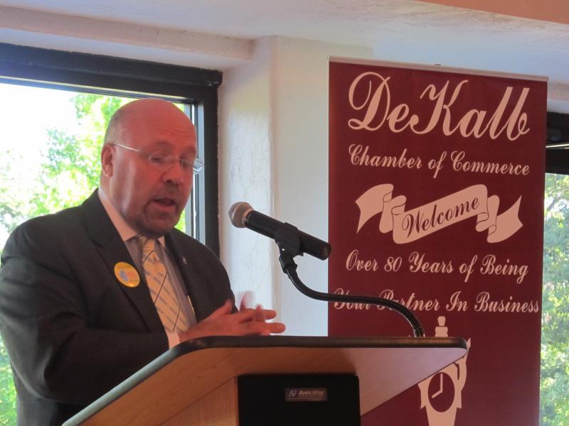 DeKalb Mayor John Rey