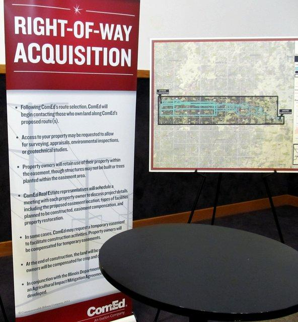 Some of the right-of-way rules in ComEd's transmission line plan
