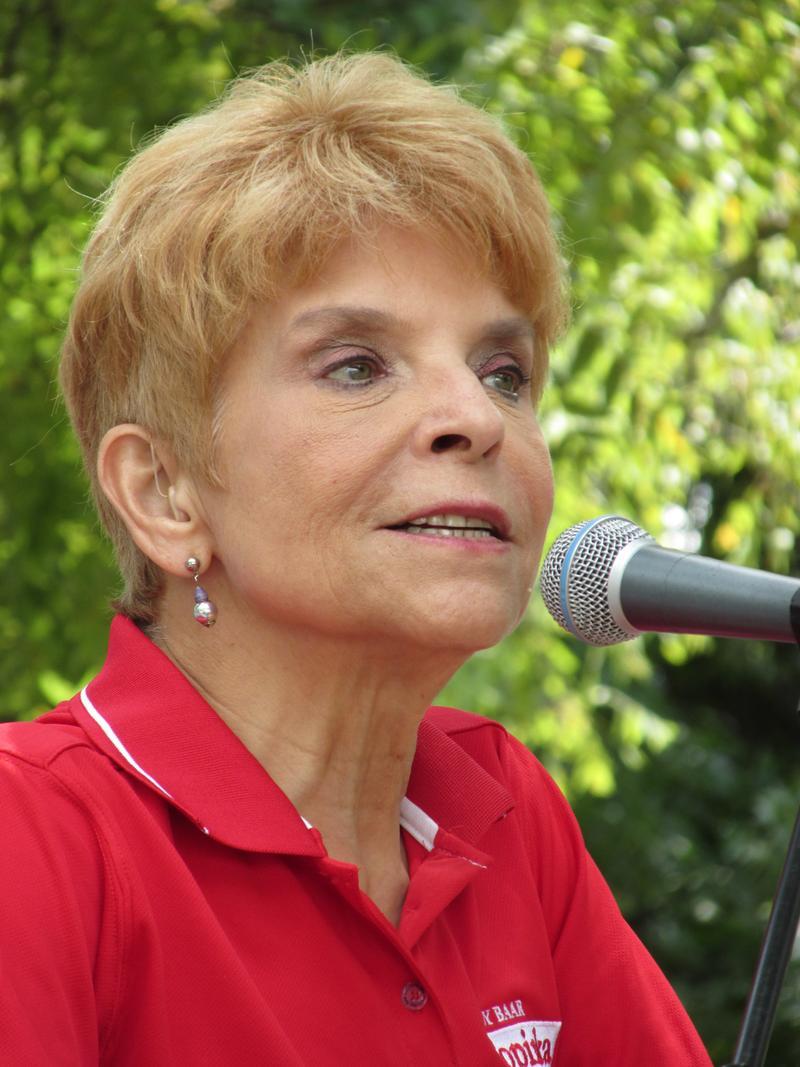 Comptroller Judy Baar Topinka