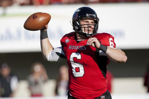Jordan Lynch during NIU's Homecoming Game against Akron (October 2013)