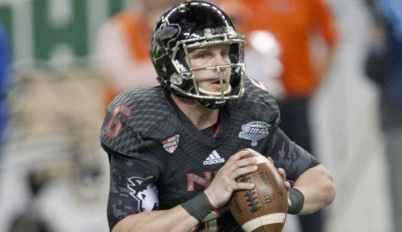 Jordan Lynch during the team's loss to Bowling Green in the Mid-American Conference Championship (Dec. 6, 2013)