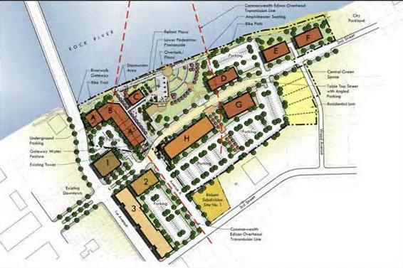 Riverfront Plan for Rock Falls