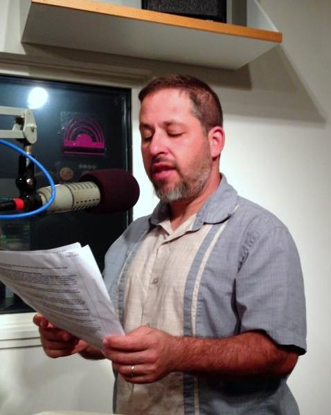 Dan Libman in the WNIJ studio.