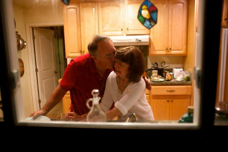 Rick Rayburn cares for his wife Marianne, who has dementia.