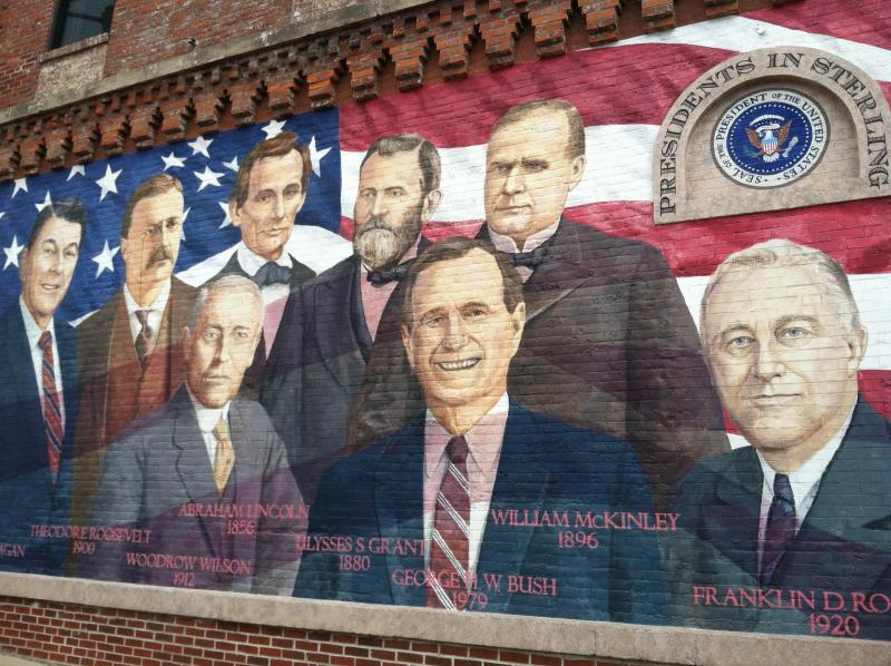 All the presidents who visited Sterling