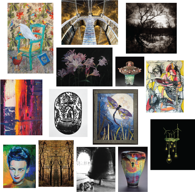 Northern Public Radio 2016 Calendar features the work of 14 local artists.