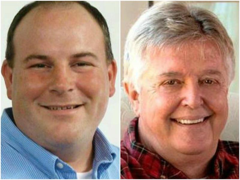 Left: Democrat John Bartman, Right: Republican Steven Reick