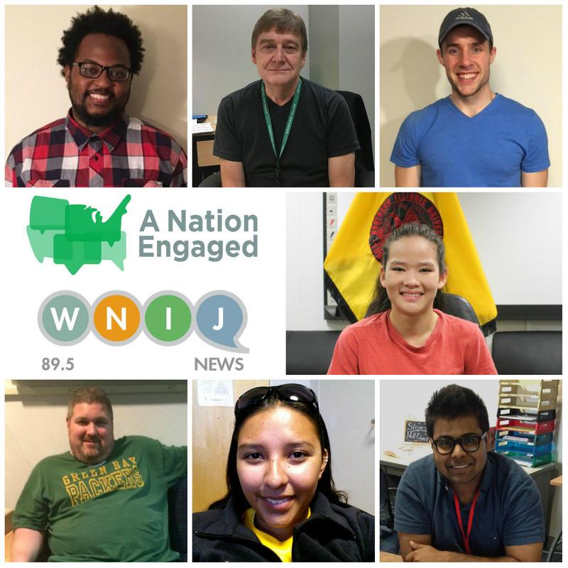 Top row: Aaron Briggs, David Paulson, Nicholas Glawe. Middle: Emily Moody. Bottom row: Willie Watson, Gabriella Rodriguez, Shobhit Srivastava