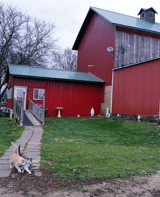 The Double-B Farm Country Store and Cafe in Beloit, Wis., is very near the latest proposed path of the Great Lakes Basin Railroad