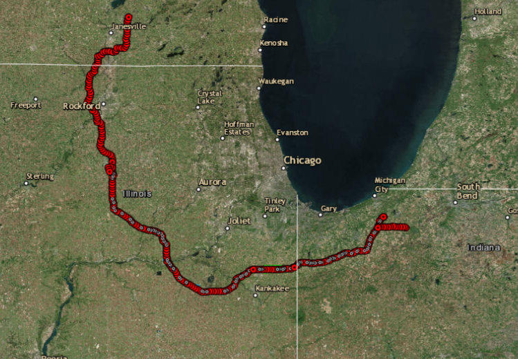 Great Lakes Basin Railroad Factors In Geography But Environmental
