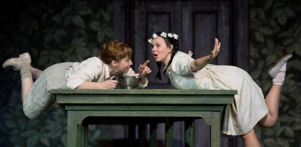 "Scene from the Met's production of ""Hansel and Gretel"""