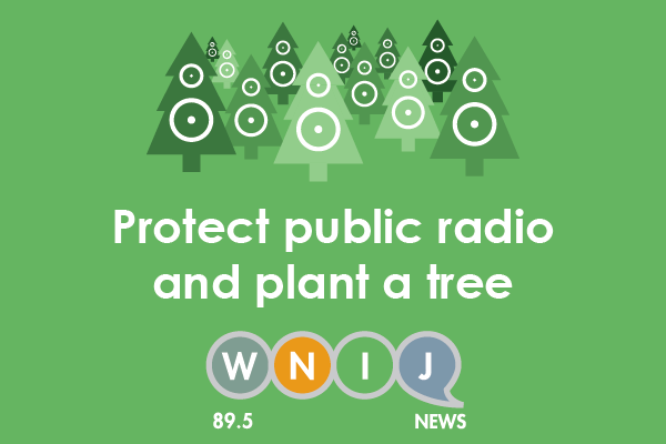 Protect public radio and plant a tree