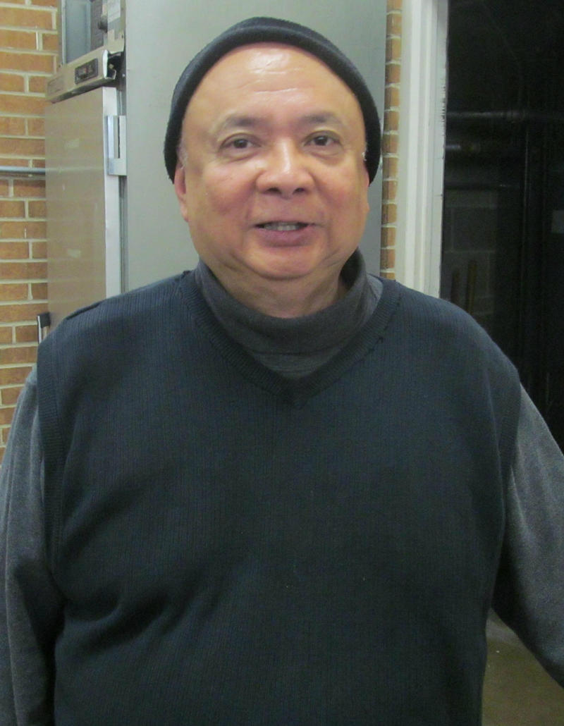 Father Perfecto Vasquez of SS Peter and Paul in Virgil