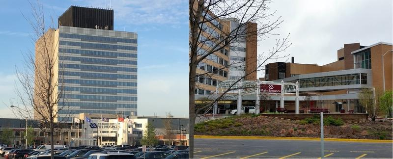 Veterans Administration hospitals in the Chicago area, left, and Madison, Wis., are two of three such facilities that provide service to veterans living in northern Illinois and southern Wisconsin.