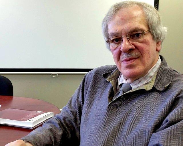 Professor Bob Evans, Rockford University