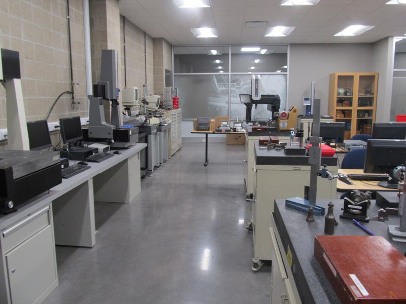 The Metrology Lab at the Woodward Technology Center
