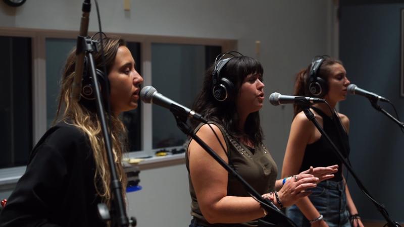 LASKA performs in WNIJ's Studio A