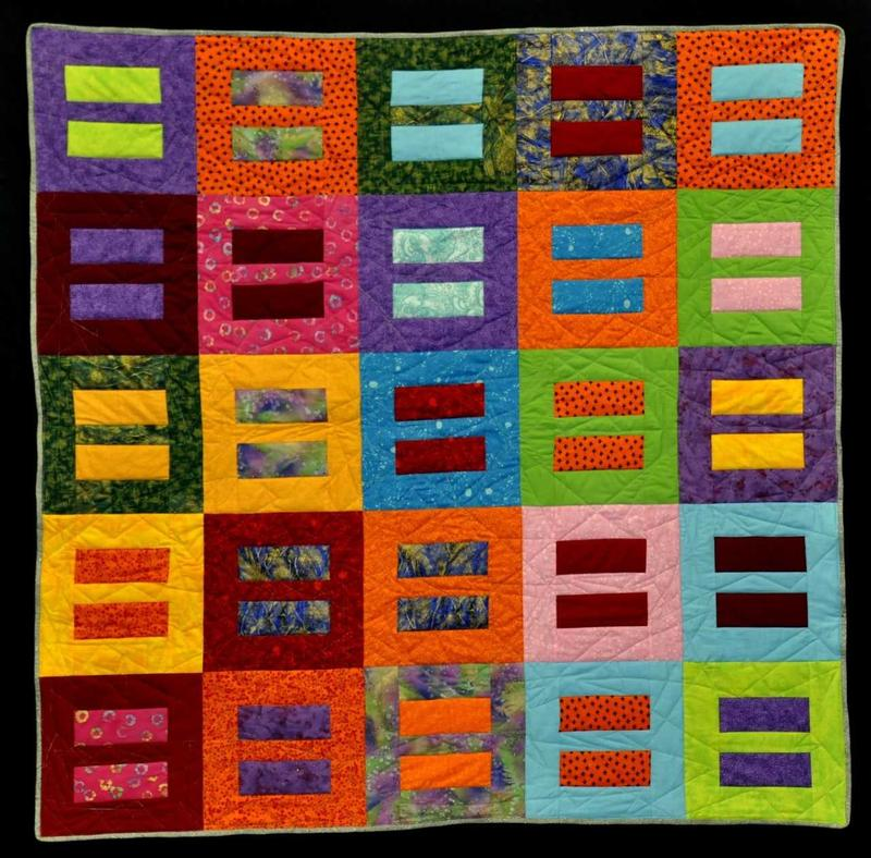 """Quilt for Equality,"" by Eric Syszynski, will be part of the Pick Museum of Anthropology exhibit ""Quilts and Human Rights"" at NIU."