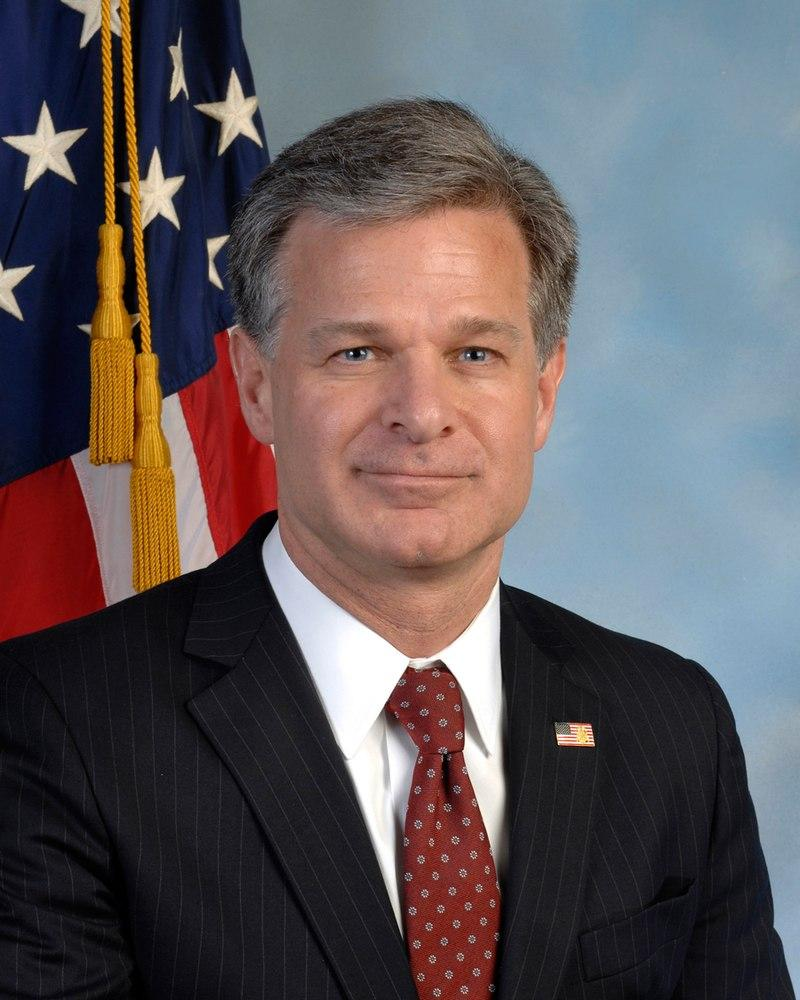 FBI Director Christopher Wray