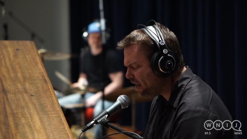 The Bare Hambones perform in WNIJ's Studio A.