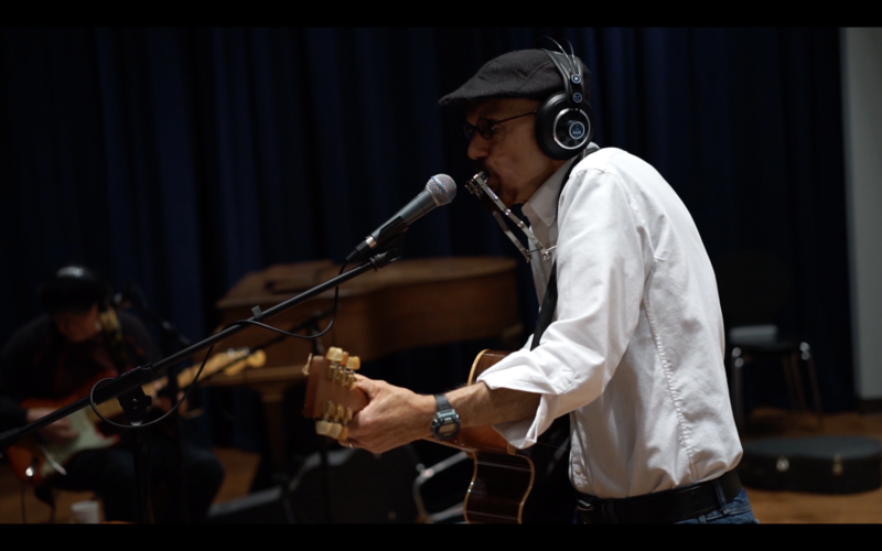 Trinadora Rocks performs in WNIJ's Studio A