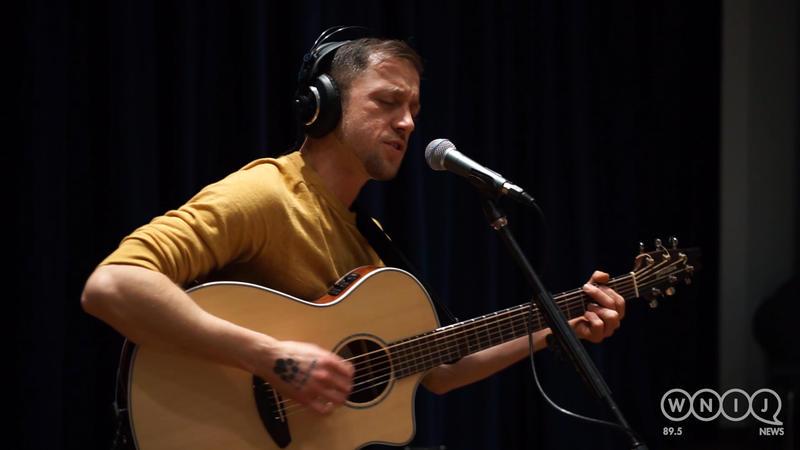 Matthew Kopecky of Oblio & Arrow performs in WNIJ's Studio A.