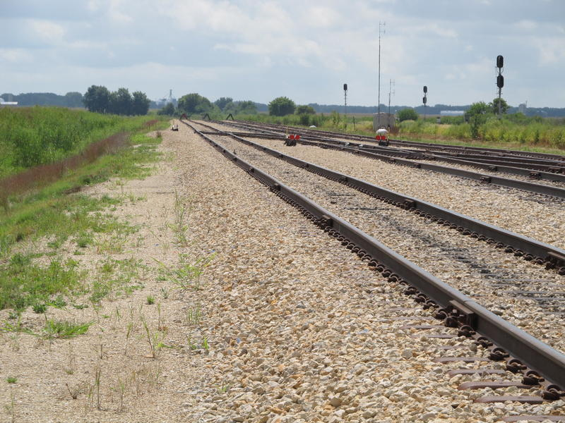 The end of the line for the City of Rochelle Railroad - for now