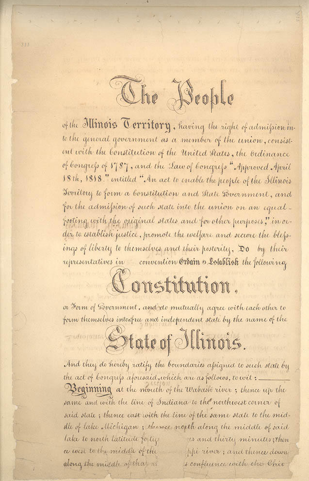 Illinois State Constitution