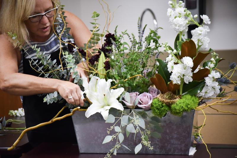 Gallagher also explained how flowers and textures can add a calming effect to a classroom.