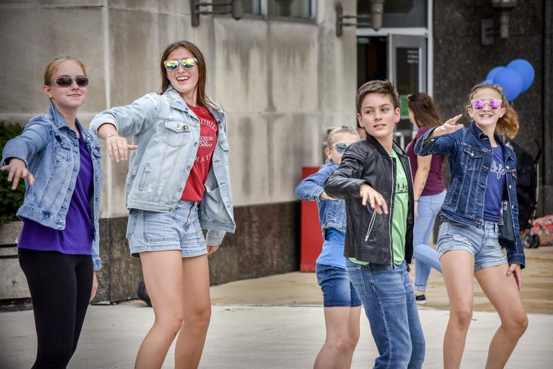 """The five dancers performed, """"Grease Lightning,"""" implementing solo acts in the middle of the song."""