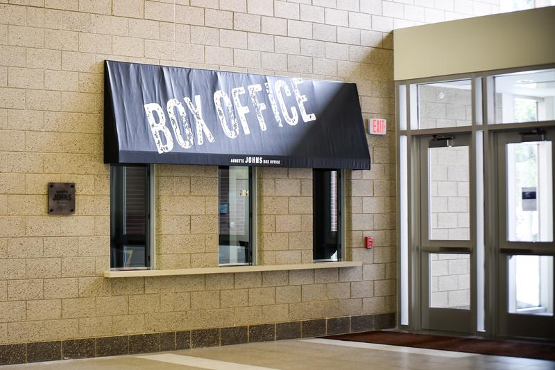 The School of Theatre and Dance has a new box office and Black Box theater.