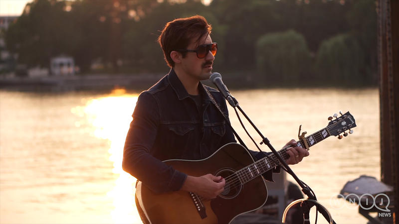 Zach Pietrini performs live at Prairie Street Brewing Co. in Rockford.