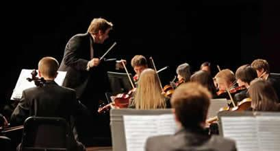 "RSYO Director Daniel Black, who will conduct the orchestra and choirs in ""The Ode to Joy"""