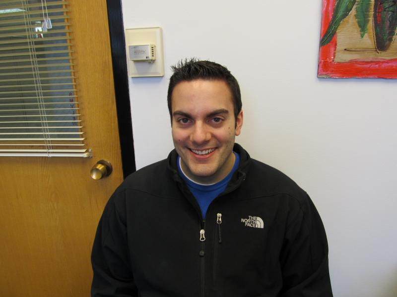 Law student and Financial Cents 'peer educator' Nick Plattos