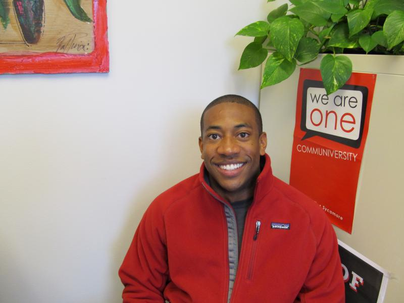As a member of Financial Cents, accounting graduate student Thurston Booth teaches other students financial literacy