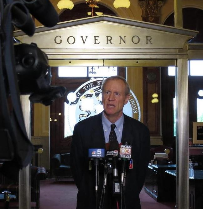 Turmoil in Governor Rauner's office
