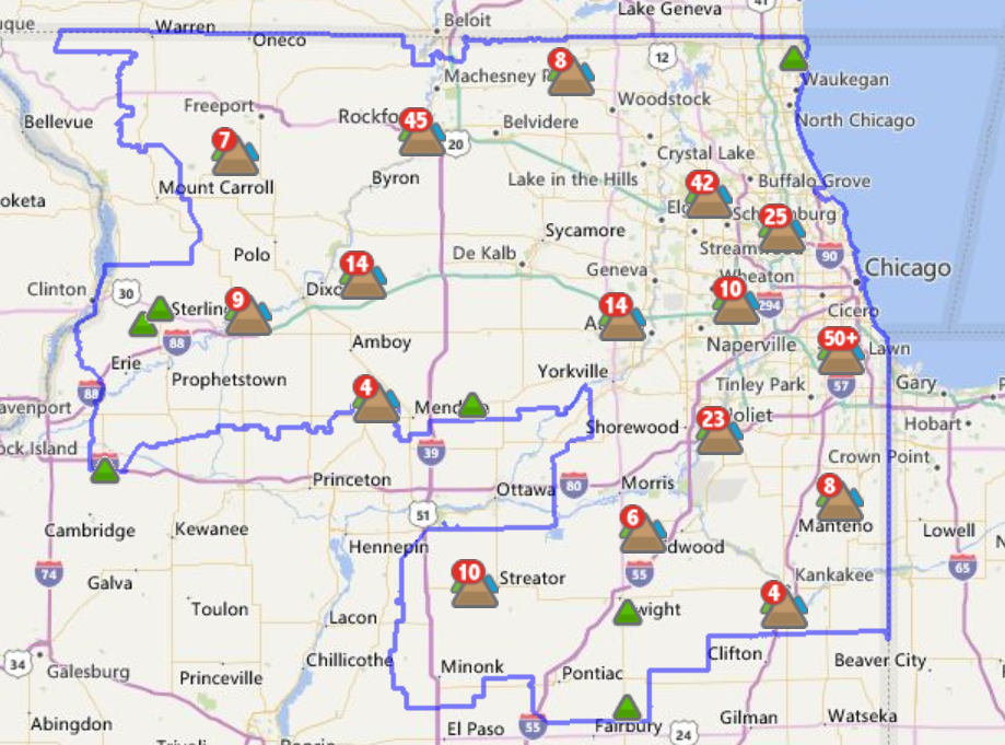 Power Outages Reported Across Northern Illinois Wnij And Wniu