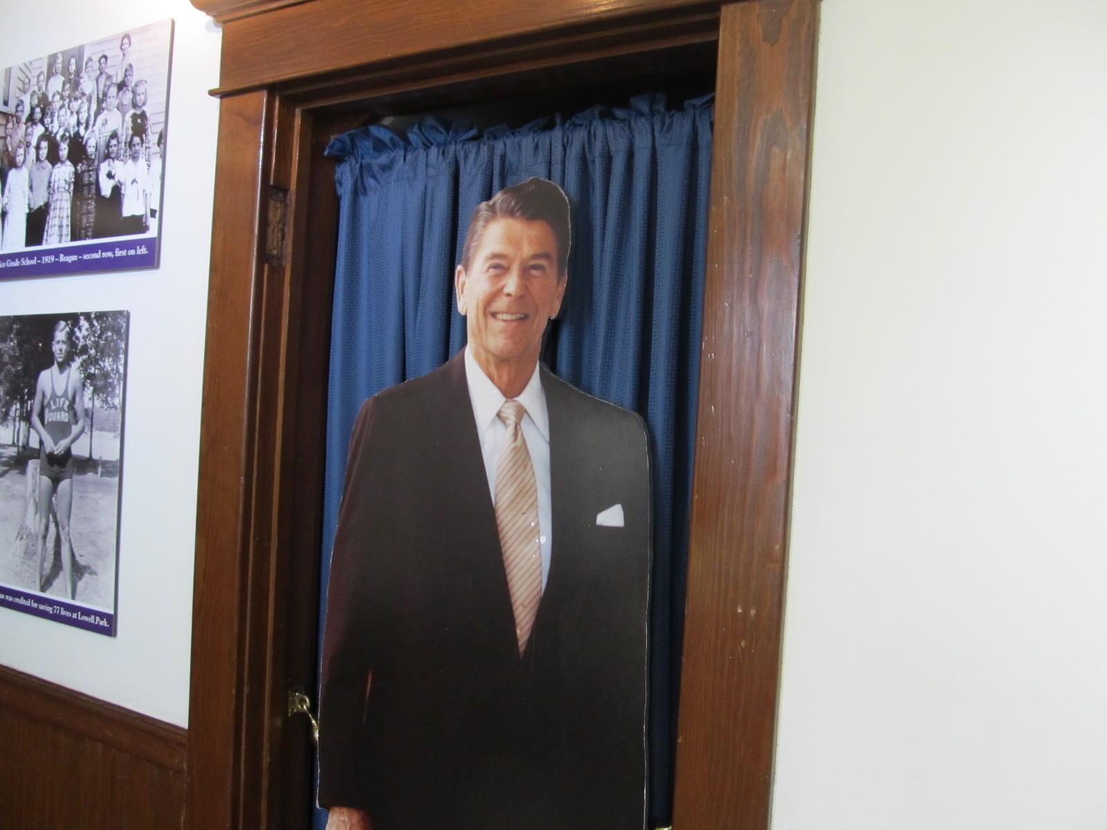 Reagan Boyhood Home Still A Work In Progress But No Longer Falling