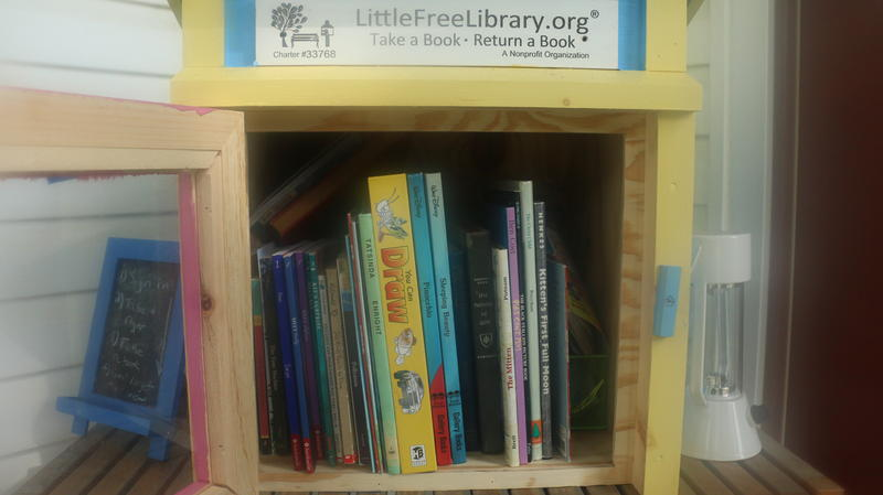 Zoe's Little Free Library