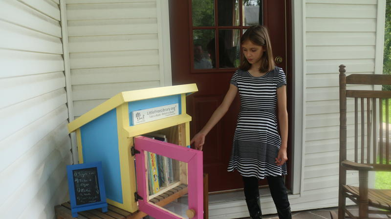 Little Free Libraries are an International nonprofit that encourages learning through reading.